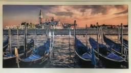 Quadro Argus Ridan Veneza trabalhado em espelhos