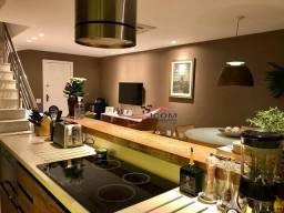 Cobertura com 2 dormitórios para alugar, 170 m² por r$ 15.000,00/mês - leblon - rio de jan