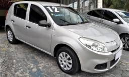 SANDERO 2011/2012 1.0 AUTHENTIQUE 16V FLEX 4P MANUAL - 2012