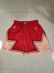 Shorts de Basquete Oficial NBA All Star Game Team Giannis Jordan