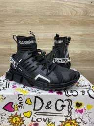 Tênis Dolce Gabbana preto