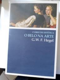 Livro O belo na Arte - G. Hegel
