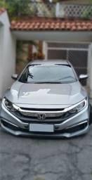 Honda Civic Lx 20/20 Prata