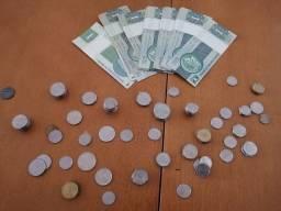 Venda ou troca de moedas antigas
