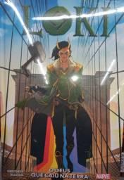 Livro HQ do Loki