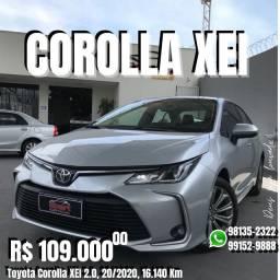 Smart Veículos - Toyota Corolla XEI 2.0, 20/2020, 16.140 Km. R$ 109.900,00