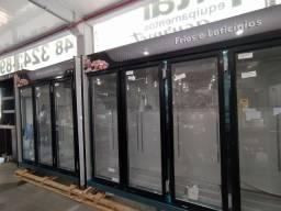 Expositor refrigerado de 3 ou 5 portas novo pronta entrega *douglas