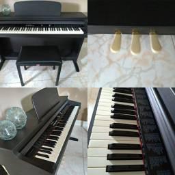 Vendo Piano digital Fênix TG 8815 + Banqueta