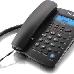 Título do anúncio: Telefone Elgin inteligente tcf 3000 + Telefone   Intelbras  - Pleno