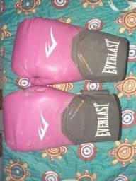 Luvas de boxe feminina