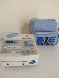 Aparelho de Fisioterapia - Striat - Ibramed - Corrente Galvânica e Micro Galvânica - Usado