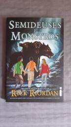 Título do anúncio: Percy Jackson - Semideuses e monstros