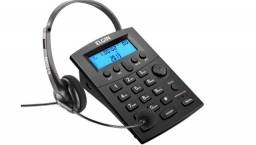 Título do anúncio: Headset Elgin HST-8000 - com Identificador de Chamada e Saída para Gravação