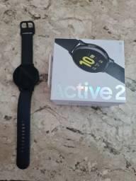 Título do anúncio: Relogio Galaxy Watch Active2  44mm (Alumínio) Preto