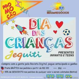 Promo Dia das Crianças Revista Jequiti #balcaomn