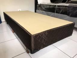 Base box para colchão de solteiro nova 78 ou 88 cm pronta entrega