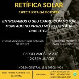 Retifica Motor Fiesta 1.0 1.6