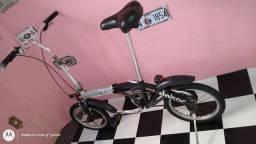 Bicicleta Dobrável Fischer Dakar Aro 14 Unissex