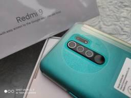 *IMBATÍVEL* Xiaomi Redmi 9 - 4Gb Ram - 64Gb de Armzto<br>- LACRADO - GLOBAL <br><br>