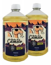 Kit 2 Pretinho Baba de camelo 1 Litro cada