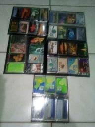 Coleção de cartões antigos telefonico
