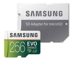 Cartão de memória Samsung  Evo Select com adaptador SD 256GB GB