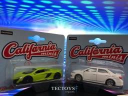 Mclaren 675gt Coupe e Toyota Corolla - California Minis 1/60 - 64