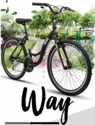 Bicicleta Aro 26 - Rava Way 21V - Rava