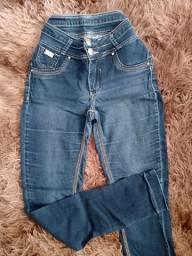 Calça Edex Jeans Tam 42 usada