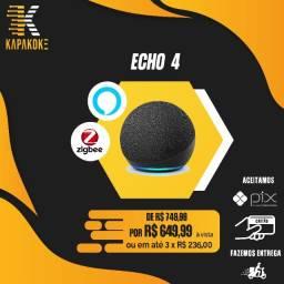 Echo 4 (Som premium e hub zigbee)