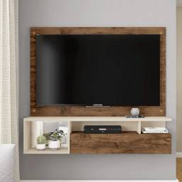 Painel Para Tv Até 55 Polegadas Black Caemmun -