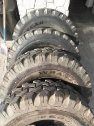 Pneu 255/75r15. Para Lama e trilha valor referente aos 4 pneus