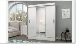Título do anúncio: Guarda Roupas com 3 Portas e Espelho Opcional