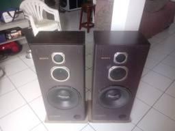 Vendo caixa de som da sony 120 rms rs 350.00 reais