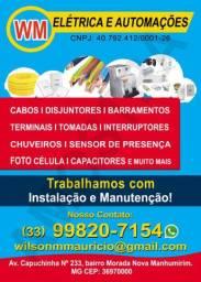 Material e prestação de serviços