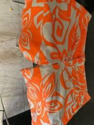 Bermunda laranja floral