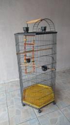 Gaiola grande para aves/papagaios