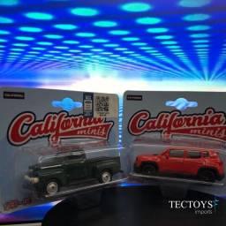 Miniaturas Jeep Renegade E Ford F1 1951 - California Minis 1/64