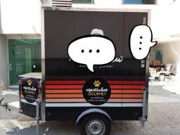 Food Truck Trailler Equipado Ac. Motos