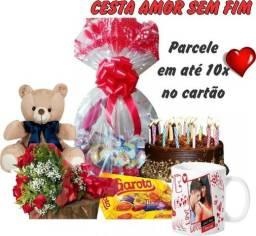 Cesta de Café da Manhã Amorosa.Ligue já zap-99214-5790/ 3118-4004