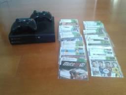 Xbox 360 desbloqueado+ kinect+jogos