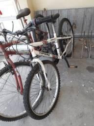 Bicicleta aro 26 e bicicleta aro 24