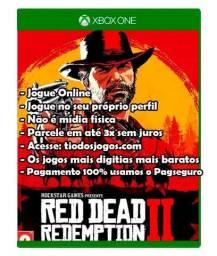 Red Dead Redemption 2 para Xbox one 3x de 35 reais