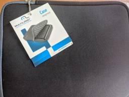 Capa Acolchoada para tablet de 10 polegadas nova sem uso
