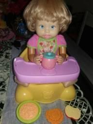 Boneca Little Mommy Que fominha