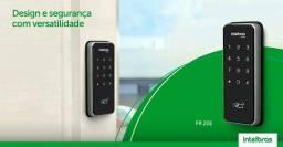 Fechadura Digital FR 201 Intelbras ( Instalada ) Ideal para Escritórios e Apartamentos