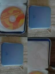 Porta CD / DVD para 40 unidades 15 reais Osasco Zapp 95720 9384