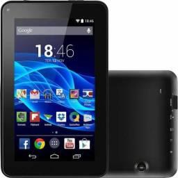 Tablet Multilaser com case R$ 220,00