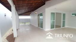 R. Casa em Condomínio // Prox a Litorânea - 4 Suítes - Projetada
