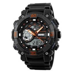Relógio masculino digital de luxo à prova d'água (estou em Ipatinga)